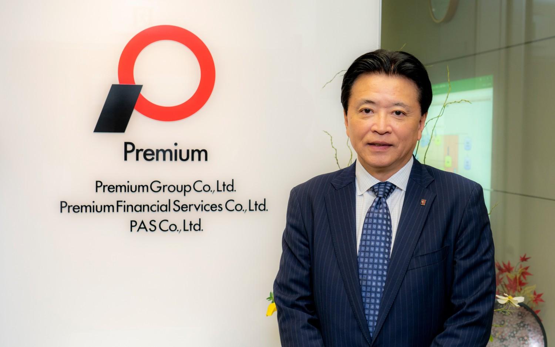 プレミアグループ株式会社 代表取締役社長 柴田洋一 インタビュー サムネイル